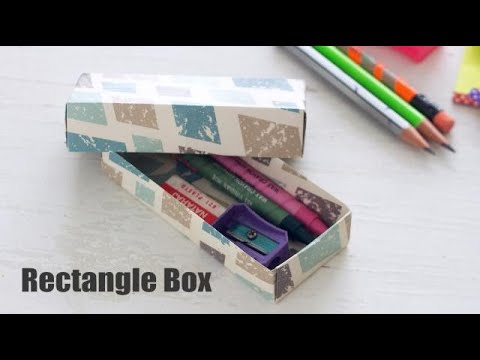 DIY Mini Rectangle Box