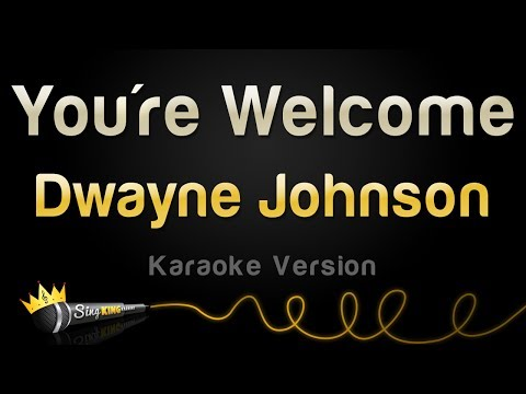 Dwayne Johnson - You're Welcome (from