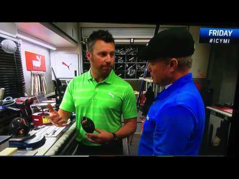 Rickie Fowlers shorter driver