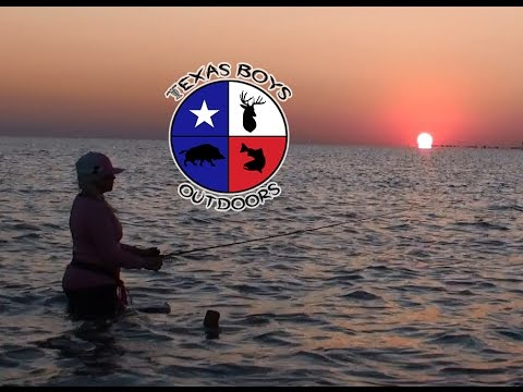Texas Boys Outdoors - Gulf Coast Speckled Trout Action