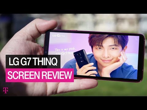 NEW LG G7 ThinQ Specs: Edge-to-Edge Screen Display Review | T-Mobile
