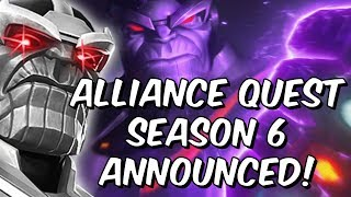 Download Alliance Quest Season 6 Announced! - Nameless Thanos & More - Marvel Contest of Champions Video
