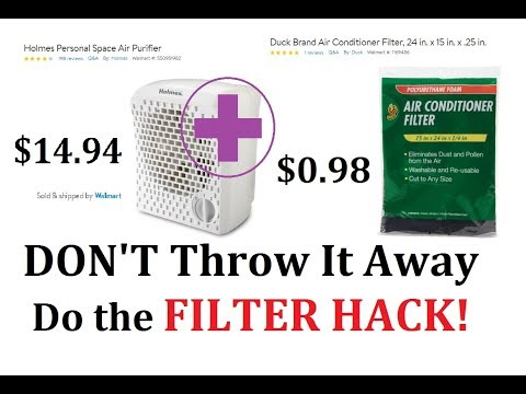 Holmes HAP116Z-U Air Purifier fan FILTER HACK