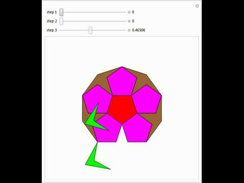 Dissection of a Regular Decagon into Two Pentagrams and Six Pentagons