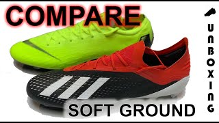 half off 58fd6 cddf2 adidas X 18.1 Initiator vs Nike Mercurial Vapor