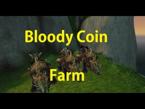Bloody Coin farm - 500 Coins in 20 Minutes - Timeless isle - PATCHED