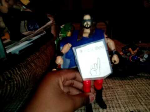 How to make your own WWE action figure