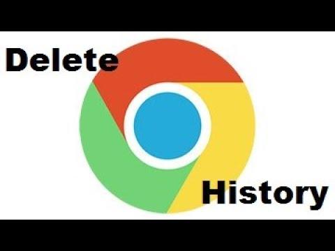 Delete browsing History In Google Chrome