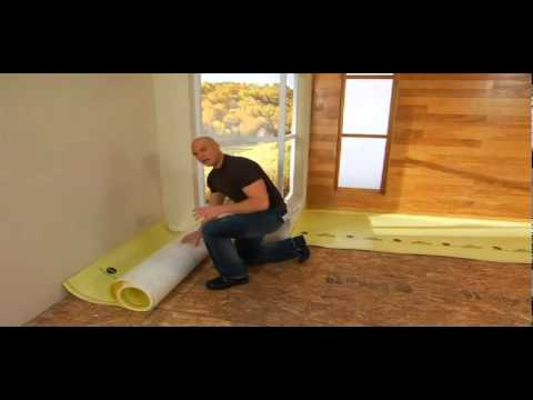 How to Install Underlayment for Hardwood Floors - Handyman Chip Wade