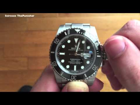 How To Set The Time on a Rolex Watch