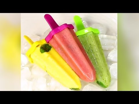 How To Make Popsicles at Home | Homemade Popsicle Recipe | Healthy Popsicle Recipe
