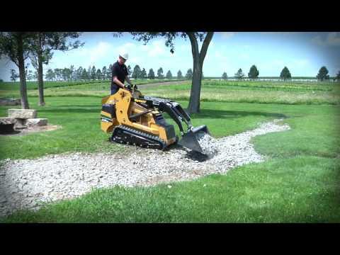 Landscaping with the Vermeer S725TX Mini Skid Steer Loader