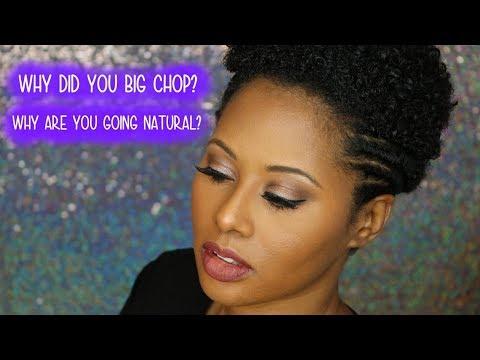 Why I decided to Big Chop!