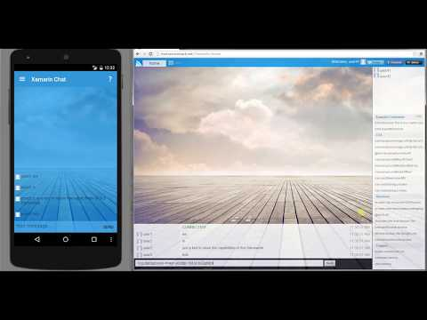 ServiceStack Server Events + Xamarin.Android demo