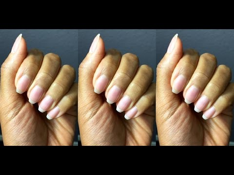 HOW TO GROW LONG NAILS AT HOME
