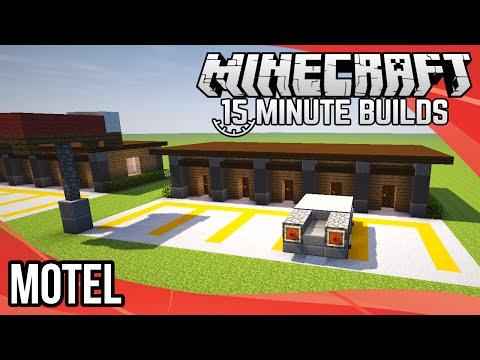 Minecraft 15-Minute Builds: Motel