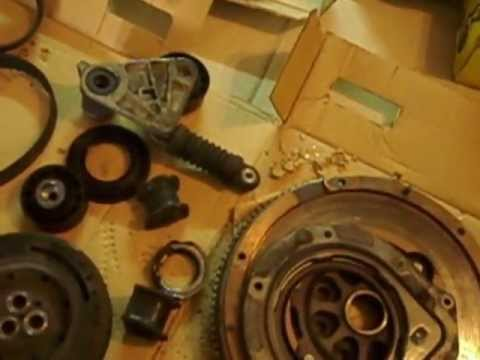 Jaguar X Type 2.0 diesel DMF dual mass flywheel and other parts replacements