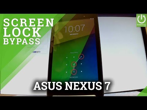 How to Hard Reset ASUS Nexus 7 - Bypass Pattern / Resetore Settings