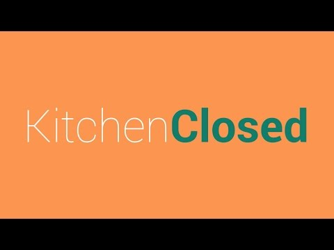 Kitchen Closed: No eating after dinner