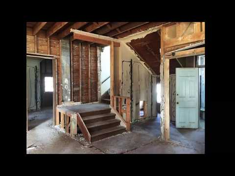 Current condition of house renovations