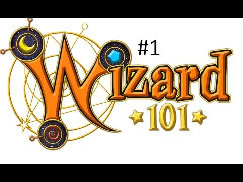 Lets Play Wizard 101 part 1