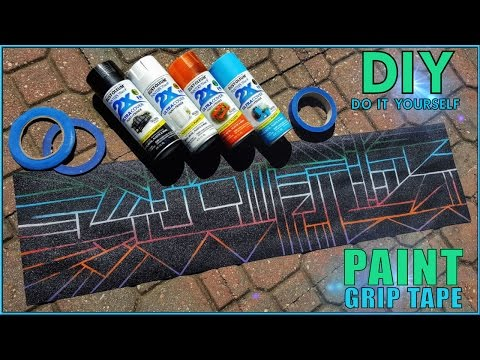 How To Paint Your Grip Tape! Easy Tutorial!