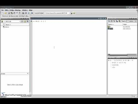 Matlab Sect 29 Solving A System of Equations using Row Reduced Echelon Form