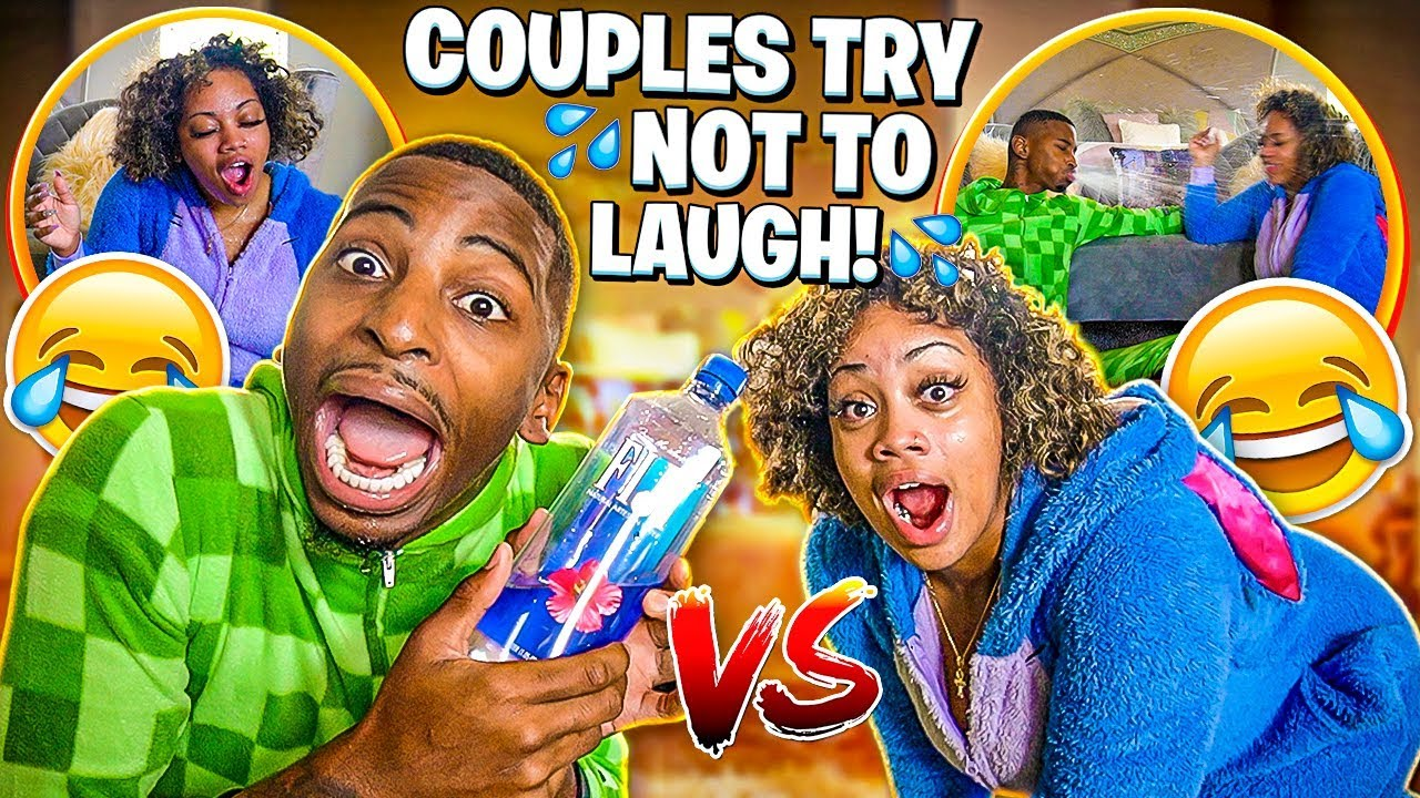COUPLES TRY NOT TO LAUGH😂  WATER EDITION💦  HILARIOUS