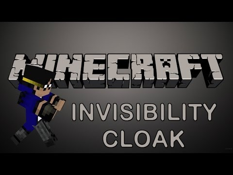 Minecraft   Invisibility Cloak! (Harry, Eat Your Heart Out!)   Mod Showcase [1.7.2]