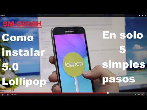 Como Instalar Lollipop 5.0 En Galaxy S5 G900H [En Solo 5 Pasos]