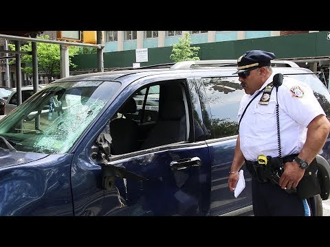 Cyclist critically struck by SUV in Brooklyn