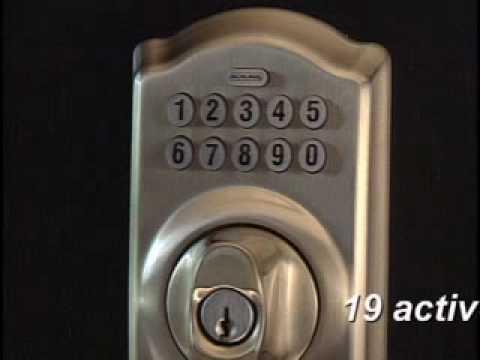Programming Your BE365 Keypad Deadbolt