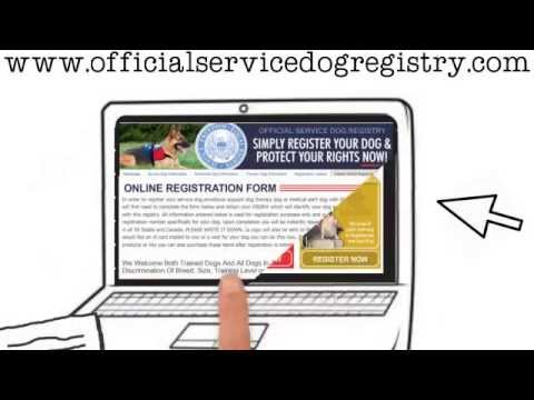 OFFICIAL SERVICE DOG REGISTRY