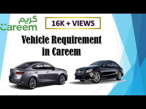 Vehicle Requirement in Careem