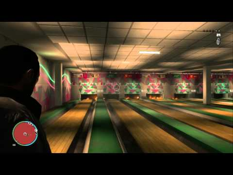 GTA IV Fun at the Bowling Ally