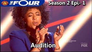 Majeste Pearson Sings Someone Like You Great Range Full Audition The Four Season 2