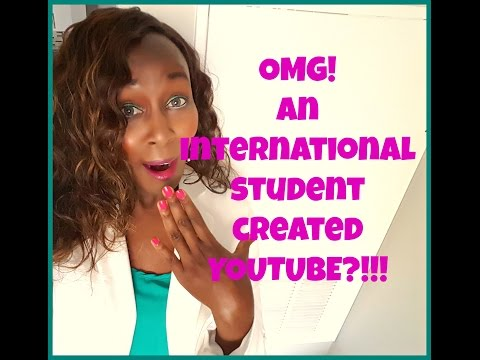 OMG! An international Student Created YouTube?!
