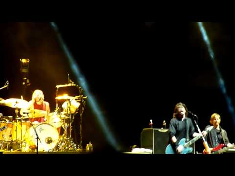 Foo Fighters - This Is A Call @ NIB Stadium, Perth 2011