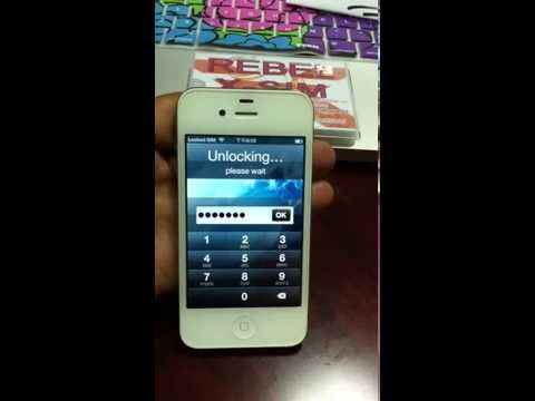 See How To UNLOCK & ACTIVATE iPhone 4S iOS 5.1.1 with Rebel X-SIM