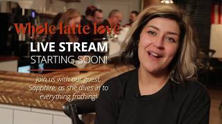 How To: Milk Frothing & Latte Art With Professional Barista Sapphire