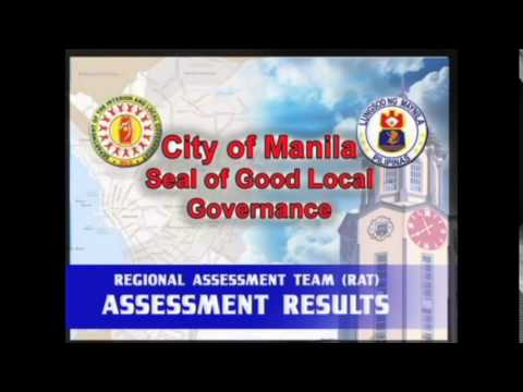 ERAP Seal of Good Local Governance in 2015