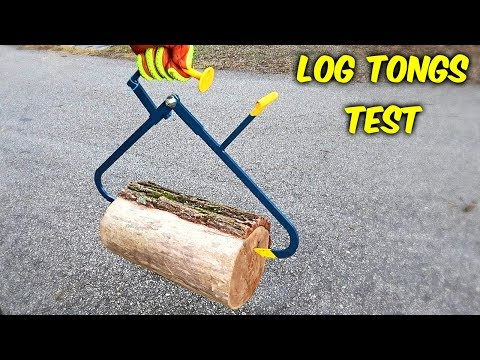 Testing Firewood Pick Up Tools!