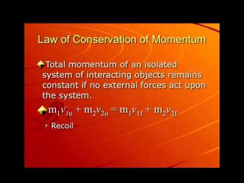Momentum Lecture 2