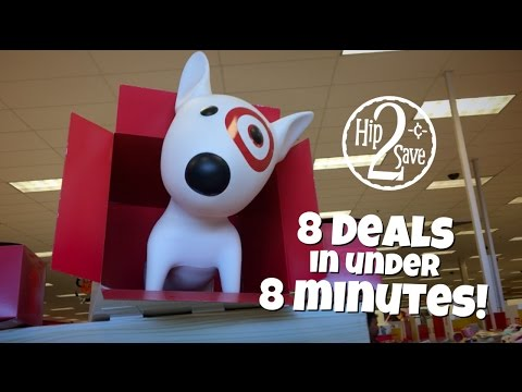 8 DEALS in under 8 MINUTES at Target! | Deal Shopping with Amanda