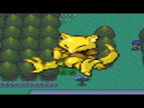 How to find Abra in Pokemon Diamond and Pearl