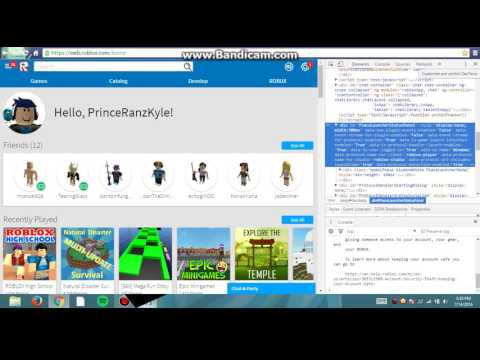 How To Get Free Robux (INSPECT NOT FAKE)