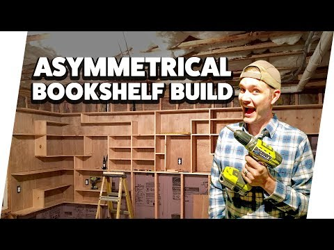 Building a Custom Built-In Bookshelf