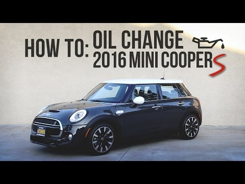 2016 MINI Cooper S (F55) - OIL CHANGE