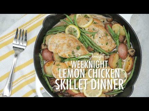 How to Make Weeknight Lemon Chicken Skillet Dinner | Dinner Tonight | MyRecipes