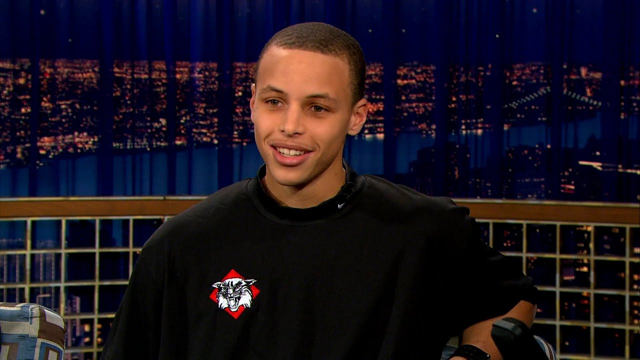 """Stephen Curry On His Historic Run At The 2008 NCAA Tournament - """"Late Night With Conan O'Brien"""""""